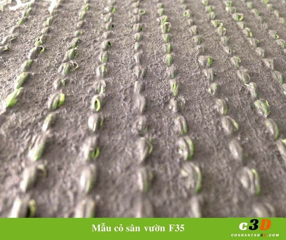 Cỏ nhân tạo sân vườn - mẫu F35