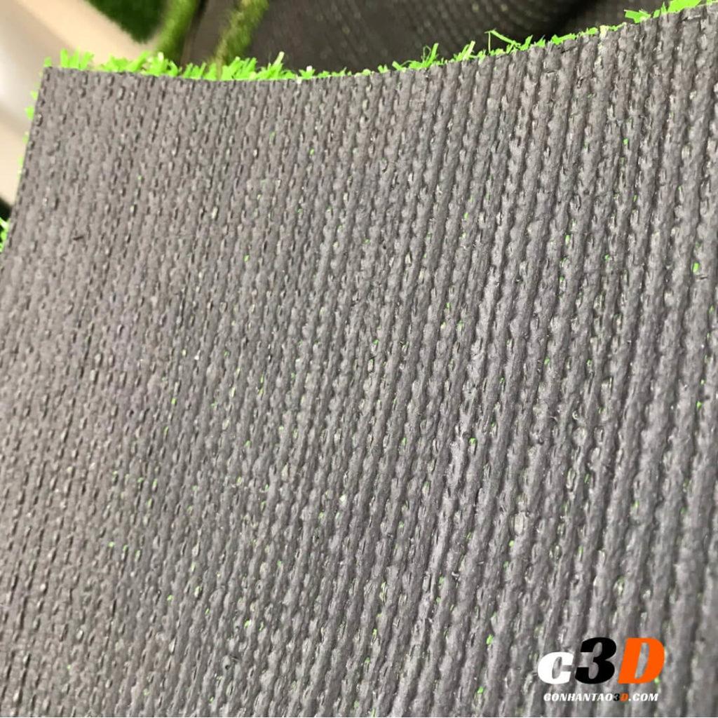 thảm cỏ nhân tạo giá rẻ 1cm mặt sau