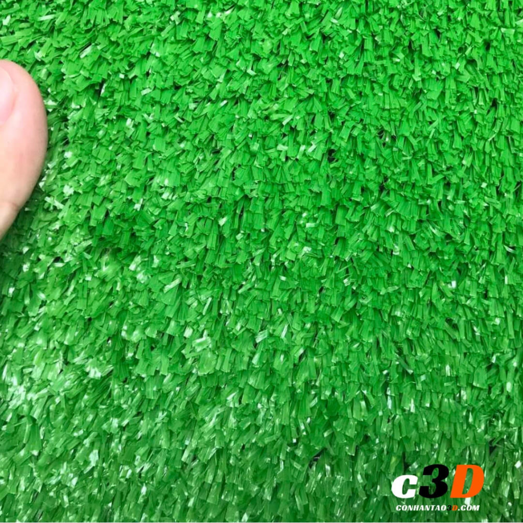 thảm cỏ nhân tạo giá rẻ 1cm