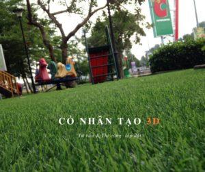 Thảm cỏ nhân tạo trải sân chơi