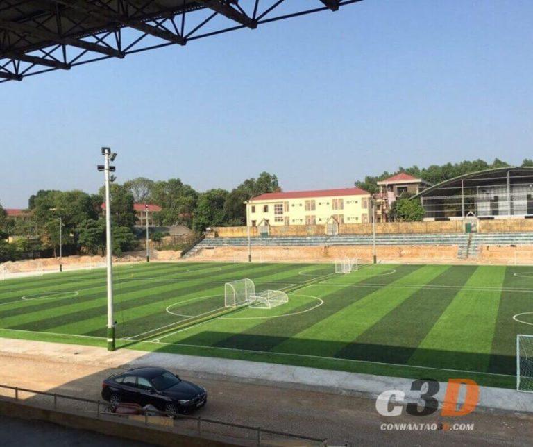 Thi công sân bóng đá cỏ nhân tạo Đà Nẵng