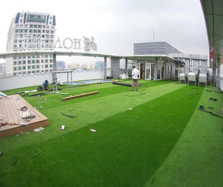 Thảm cỏ nhân tạo tphcm