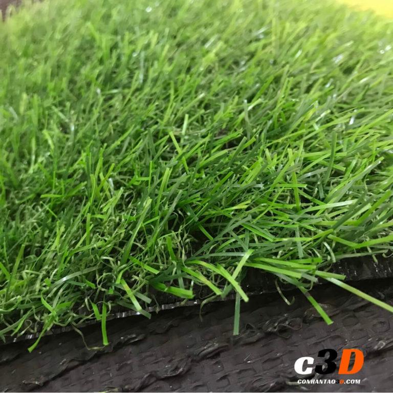 Thảm cỏ nhân tạo giá rẻ 2cm