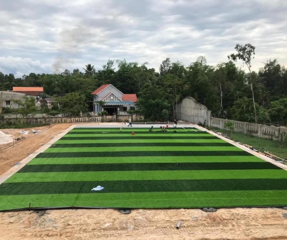 Lắp đặt sân bóng cỏ nhân tạo Đồng NAi