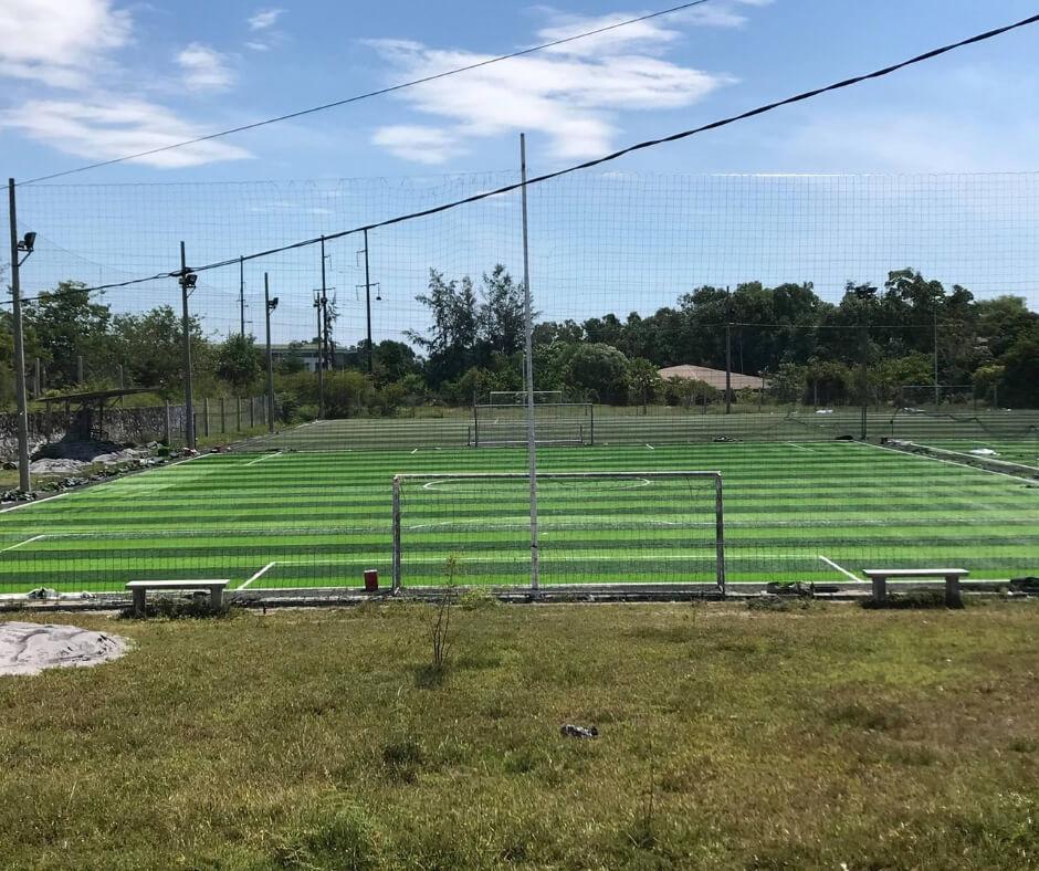 lắp đặt sân bóng cỏ nhân tạo Tiền Giang