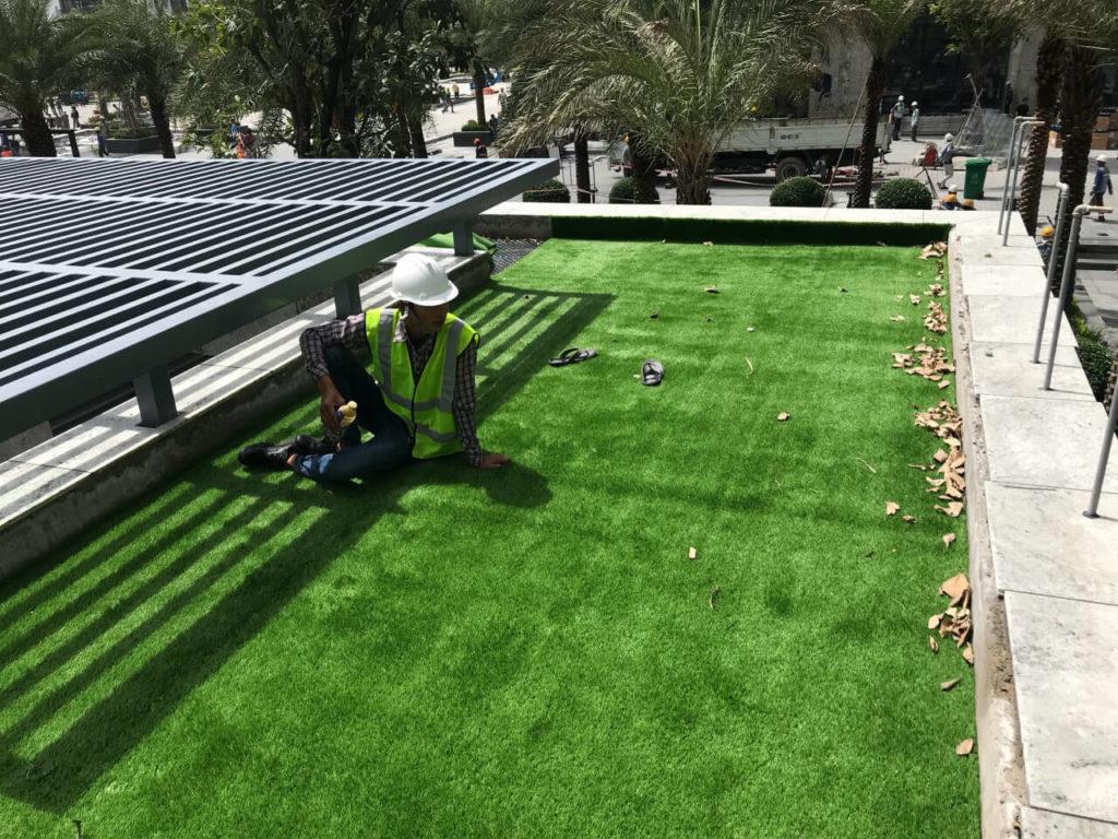 Thảm cỏ nhân tạo Landmark 81