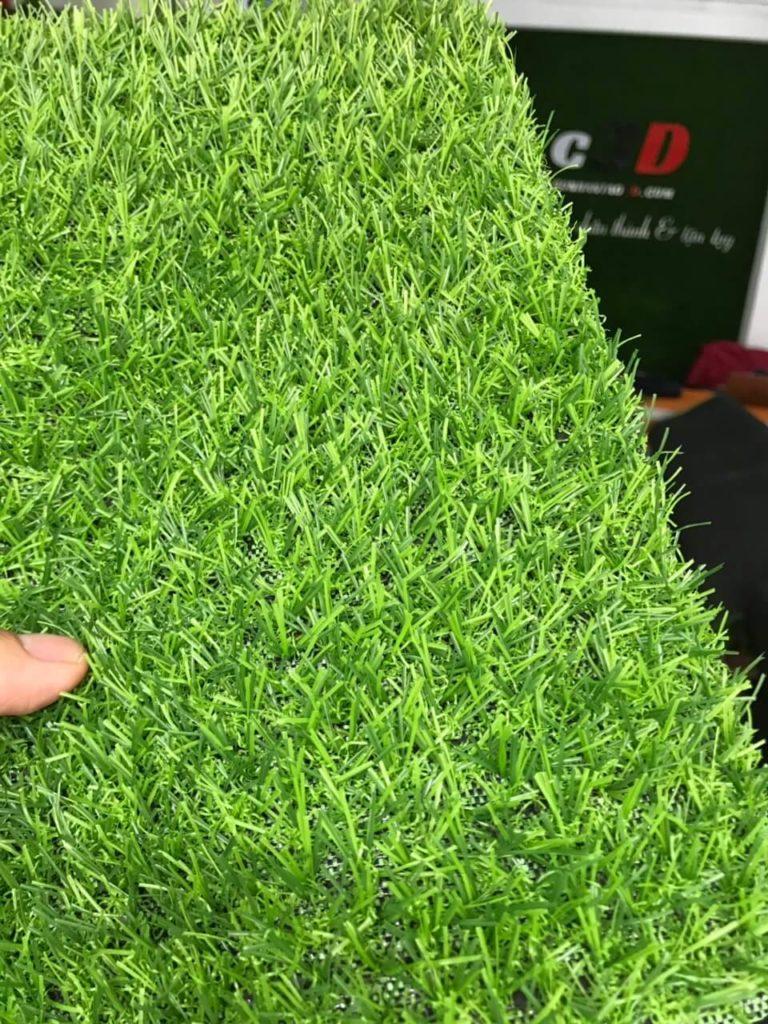 thảm cỏ nhân tạo ốp tường R15