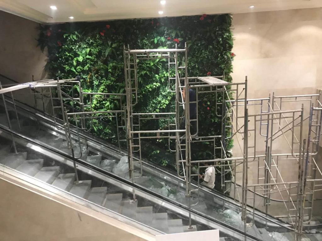 Tường cây giả Phú Quốc